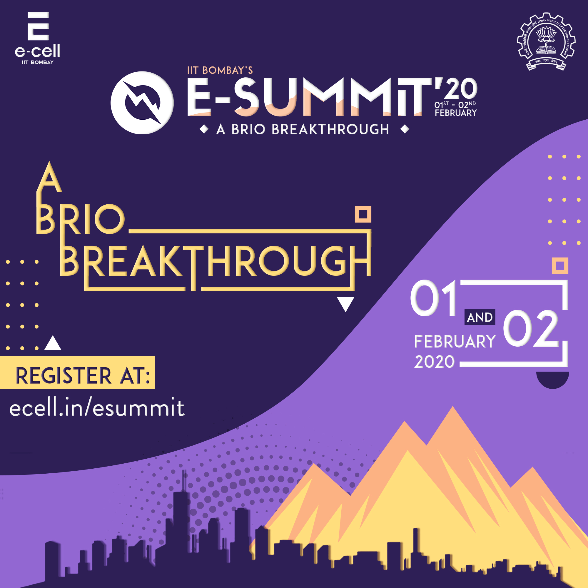 15th E-Summit by E-Cell, IIT Bombay